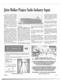 Maritime Reporter Magazine, page 4th Cover,  Jul 2004