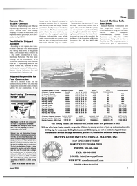 Maritime Reporter Magazine, page 9,  Aug 2004