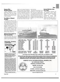 Maritime Reporter Magazine, page 9,  Aug 2004 Richard Vortmann