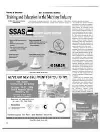 Maritime Reporter Magazine, page 24,  Aug 2004 Glen Paine