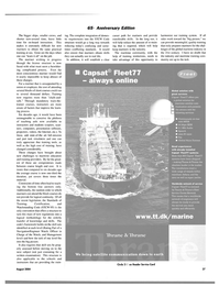 Maritime Reporter Magazine, page 27,  Aug 2004 Navy