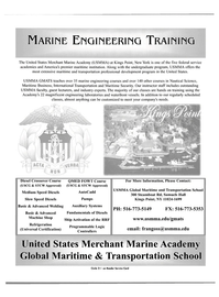 Maritime Reporter Magazine, page 1,  Aug 2004 transportation professional development program