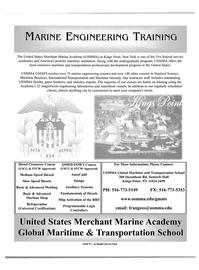 Maritime Reporter Magazine, page 1,  Aug 2004 transportation professional development program