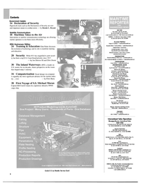 Maritime Reporter Magazine, page 2,  Aug 2004 information technology