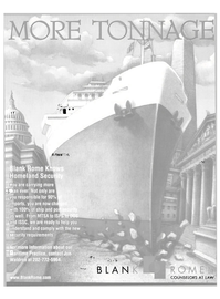 Maritime Reporter Magazine, page 39,  Aug 2004 Jon Waldron
