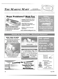 Maritime Reporter Magazine, page 54,  Aug 2004 California