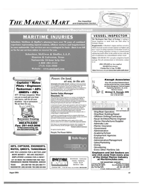 Maritime Reporter Magazine, page 55,  Aug 2004 Oregon