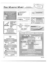 Maritime Reporter Magazine, page 56,  Aug 2004 New York