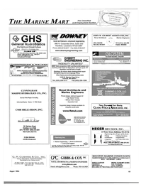 Maritime Reporter Magazine, page 57,  Aug 2004 Massachusetts