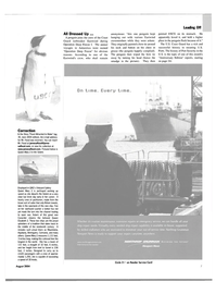 Maritime Reporter Magazine, page 7,  Aug 2004 United Kingdom