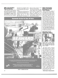 Maritime Reporter Magazine, page 14,  Sep 2004 New Jersey