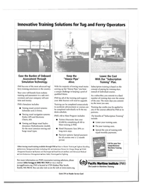 Maritime Reporter Magazine, page 2nd Cover,  Sep 2004 Alberta
