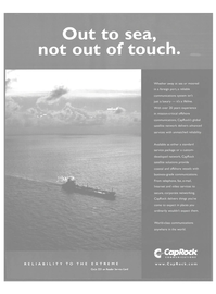 Maritime Reporter Magazine, page 22,  Sep 2004 satellite network