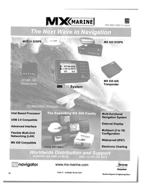 Maritime Reporter Magazine, page 23,  Sep 2004 United States