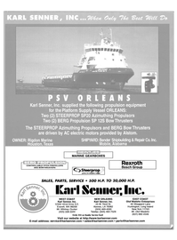 Maritime Reporter Magazine, page 1,  Sep 2004 Louisiana