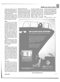 Maritime Reporter Magazine, page 32,  Sep 2004 maritime applications