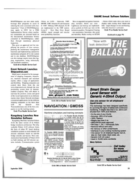 Maritime Reporter Magazine, page 36,  Sep 2004 Washington