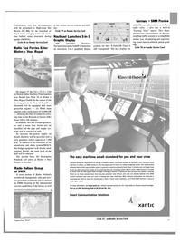 Maritime Reporter Magazine, page 44,  Sep 2004 Smart Communication Solutions