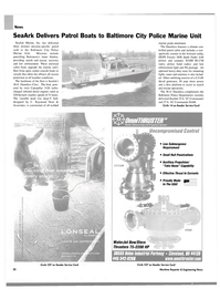 Maritime Reporter Magazine, page 20,  Oct 2004 Baltimore Police Department
