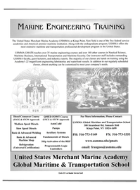 Maritime Reporter Magazine, page 1,  Oct 2004 transportation professional development program