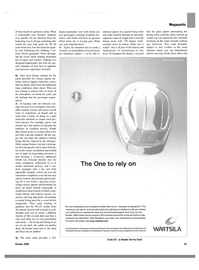 Maritime Reporter Magazine, page 35,  Oct 2004 Online Services WARTSILA Circle