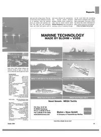 Maritime Reporter Magazine, page 39,  Oct 2004 Michael Mcquiston