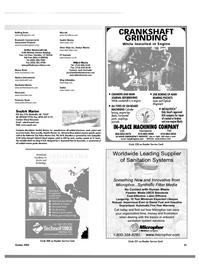 Maritime Reporter Magazine, page 43,  Oct 2004 cast iron engine