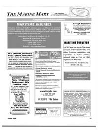 Maritime Reporter Magazine, page 53,  Oct 2004 Caribbean