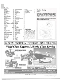 Maritime Reporter Magazine, page 4,  Oct 2004 HUGO STAMP