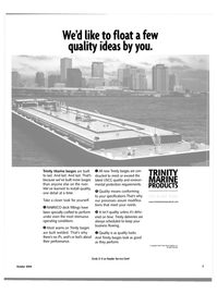 Maritime Reporter Magazine, page 5,  Oct 2004 Trinity Marine Products Inc.