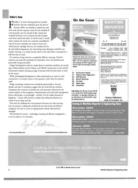 Maritime Reporter Magazine, page 6,  Oct 2004