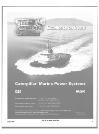 Maritime Reporter Magazine, page 7,  Oct 2004 Marine Power Systems