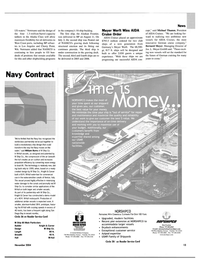 Maritime Reporter Magazine, page 13,  Nov 2004 Don Everton
