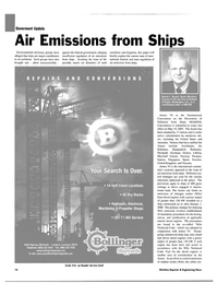 Maritime Reporter Magazine, page 14,  Nov 2004 federal government