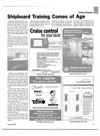 Maritime Reporter Magazine, page 17,  Nov 2004 Van der Velden