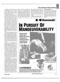 Maritime Reporter Magazine, page 23,  Nov 2004 energy