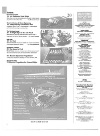 Maritime Reporter Magazine, page 2,  Nov 2004 THE WORKBOAT ANNUAL