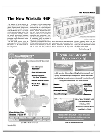 Maritime Reporter Magazine, page 39,  Nov 2004 oil cooler