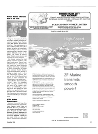 Maritime Reporter Magazine, page 3rd Cover,  Nov 2004