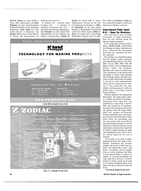 Maritime Reporter Magazine, page 4th Cover,  Nov 2004