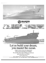 Maritime Reporter Magazine, page 19,  Dec 2004 Hanjin Heavy Industries & Construction Co. Ltd.