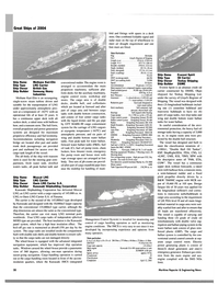 Maritime Reporter Magazine, page 20,  Dec 2004