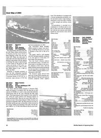 Maritime Reporter Magazine, page 22,  Dec 2004