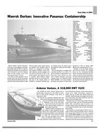 Maritime Reporter Magazine, page 27,  Dec 2004 Pacific Ocean