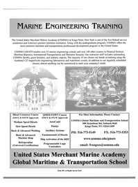 Maritime Reporter Magazine, page 1,  Dec 2004 transportation professional development program