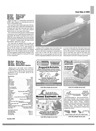 Maritime Reporter Magazine, page 29,  Dec 2004 Wisconsin