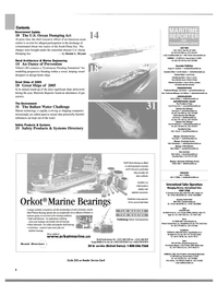 Maritime Reporter Magazine, page 2,  Dec 2004 information technology