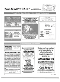 Maritime Reporter Magazine, page 44,  Dec 2004 Florida Office New York Office