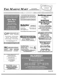 Maritime Reporter Magazine, page 48,  Dec 2004 Florida