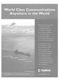 Maritime Reporter Magazine, page 3rd Cover,  Dec 2004 communications system